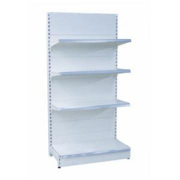 POS Corrugated Cardboard Free Standing Counter Display Unit with Metal/Plastic Hooks